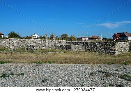Drobeta Turnu Severin City Roman Fort Ruins Architecture Detail