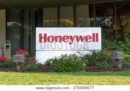 Honeywell Exterior And Trademark Logo