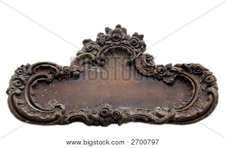 Antique Wall Plaque