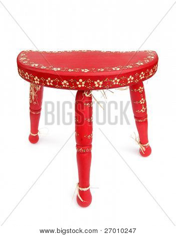 Chair red tripod