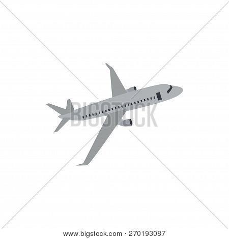 Aero Plane Graphic Design Template Vector Illustration