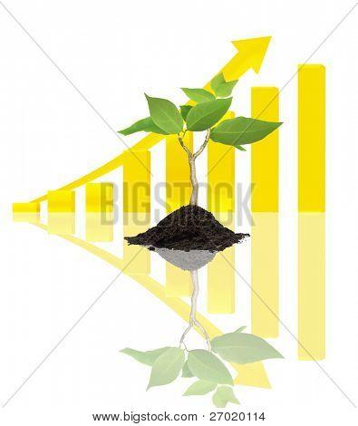 Gráfico del árbol de negocios