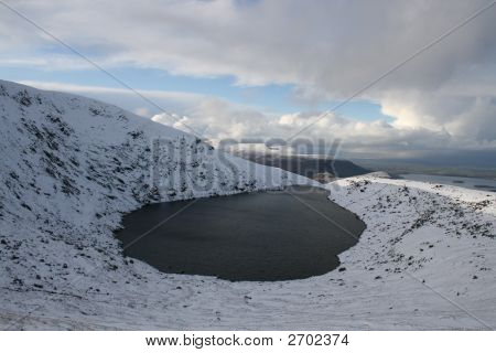 Scenic Corrie Lake