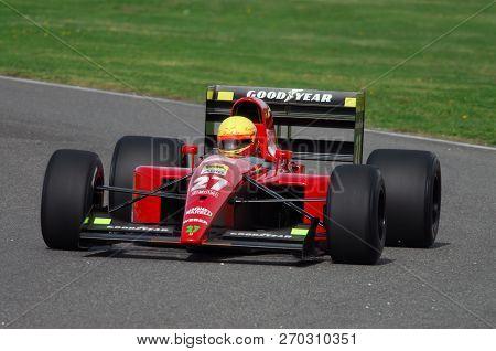 Mugello, It, November, 2007: Unknown Run With Historic Ferrari 643 F1-91 1991 Ex Alain Prost During