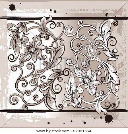 flourishes decor elements