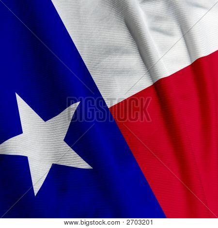 Texas Flag Closeup