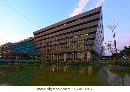 BANGKOK- DEC 20 : Government Complex in Bangkok, Thailand on Dec 20, 2010. Government Complex has 34 government units located at Chaeng Wattana St. in Bangkok.