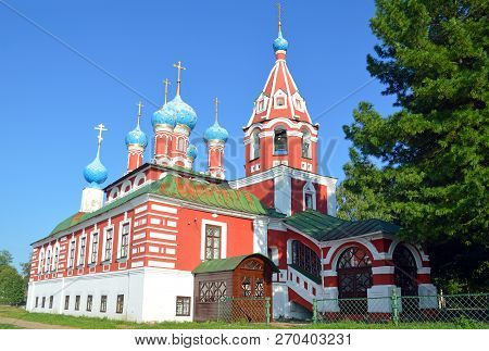 "Temple Of Tsarevich Dimitri ""in Blood"" In Uglich"