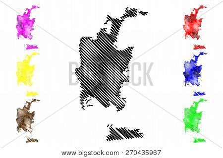San Diego City ( United States Cities, United States Of America, Usa City) Map Vector Illustration,
