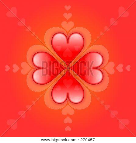 Loving Background : Sweet Hearts