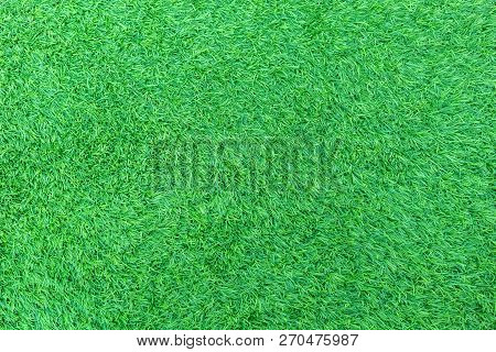 Artificial Green Grass Or Astroturf For Background