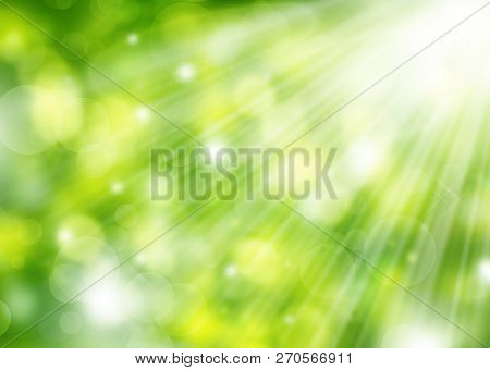 Background, Green, Abstract, Light, Design, Nature, Shiny, Pattern, Glowing, Bright, Art, Illustrati