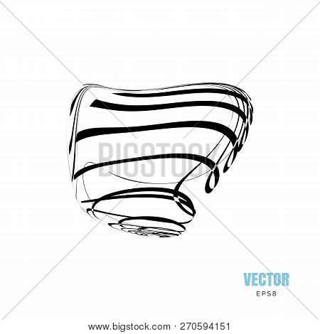 Abstract 3d Shape Vector Photo Free Trial Bigstock