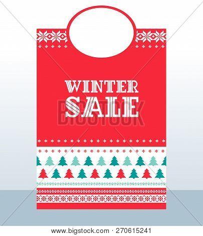 Winter Sale Christmas Pattern