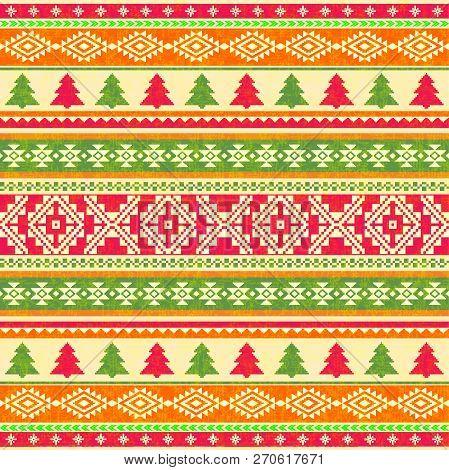 Ornamental Knitted Pattern