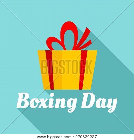 Boxing Final Day Logo Set. Flat Set Of Boxing Final Day Vector Logo For Web Design