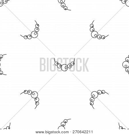 Pearls Pattern Seamless Vector Repeat Geometric For Any Web Design