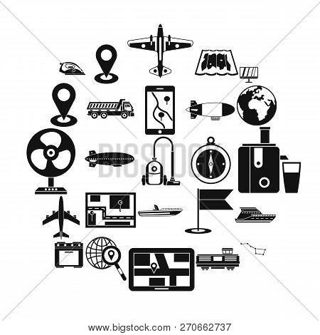 Computer Forensics Icons Set. Simple Set Of 25 Computer Forensics Vector Icons For Web Isolated On W