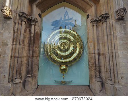 Corpus Christi College Corpus Clock In Cambridge