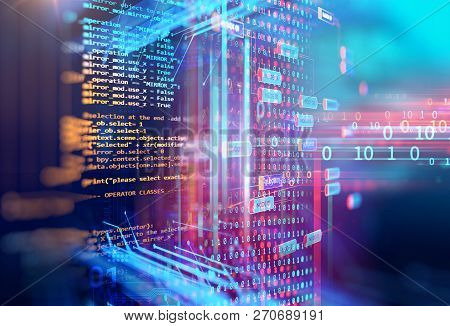 Programming Code Abstract Technology Background