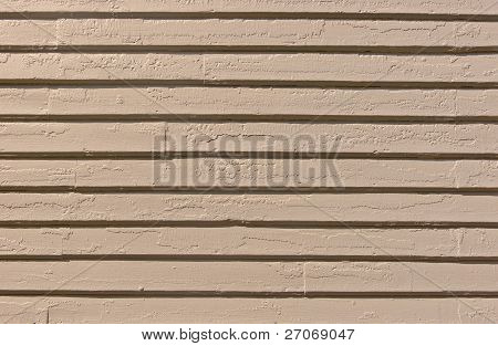 Closeup of Aged Wooden Siding
