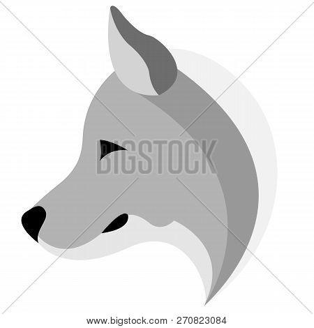 Logo Design Of A Hoarse Logo, Vector Art Illustration.