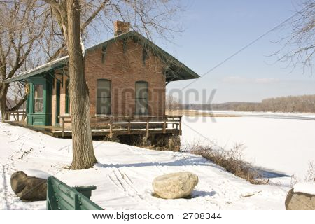Old Train Stop Building