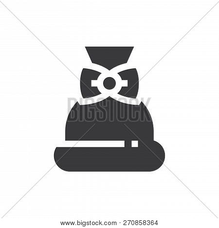 Bag Vector Icon On White Background. Bag Icon In Modern Design Style. Bag Vector Icon Popular And Si