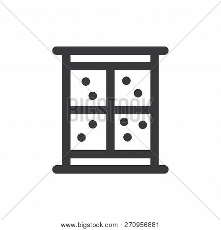 Window Vector Icon On White Background. Window Icon In Modern Design Style. Window Vector Icon Popul