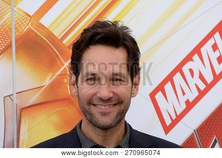 Giffoni Valle Piana, Sa, Italy - July 20, 2018 : Paul Rudd At Giffoni Film Festival 2018 - On July 2