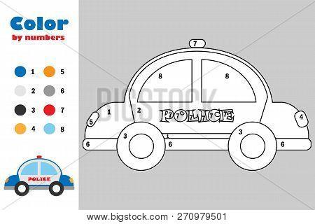Police Car Cartoon Vector & Photo (Free Trial) | Bigstock