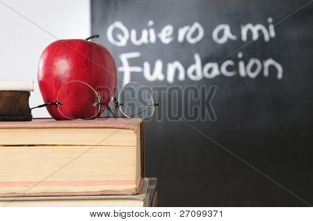 Spanish class.