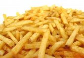 French fries potatoes poster