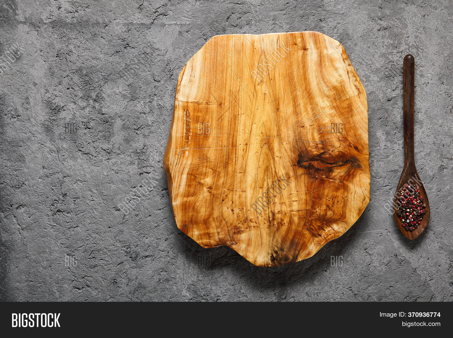 Rustic Wooden Cutting Image Photo Free Trial Bigstock