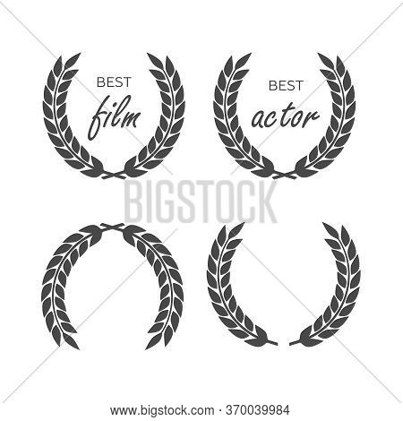 Award Vector Great Design Set. Award Vector Icon. Award Vector Logo Design