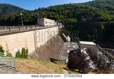 Hydro-electric Power Station On Bibei River. Galicia