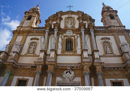 The church of Saint Domenico of Palermo in Sicily