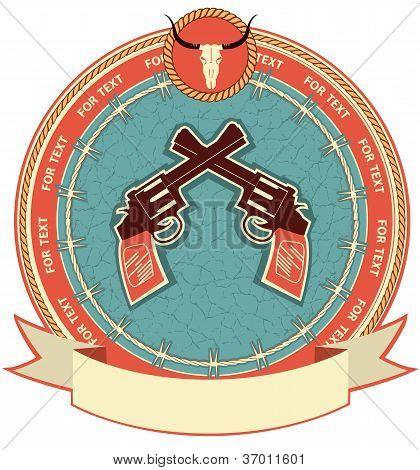 Western Symbol Background