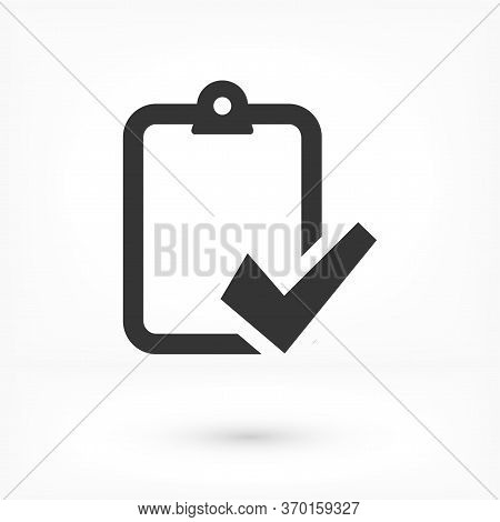 Modern Clipboard Line Vector Icon. Premium Pictogram Isolated On A White Background Vector Icon. Vec