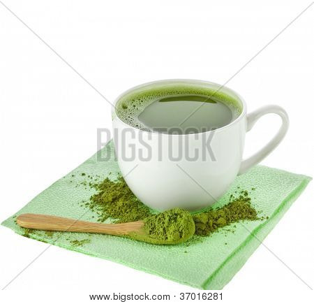 Japanese Matcha Green Powdered Tea Cup
