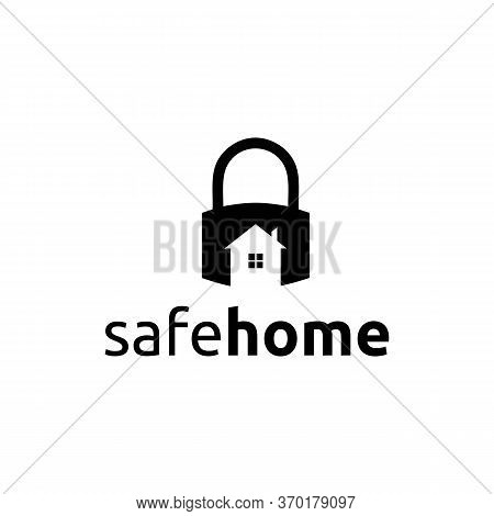 Safe Home Logo Vector And Templates Icon