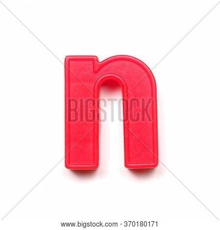 Magnetic Lowercase Letter N