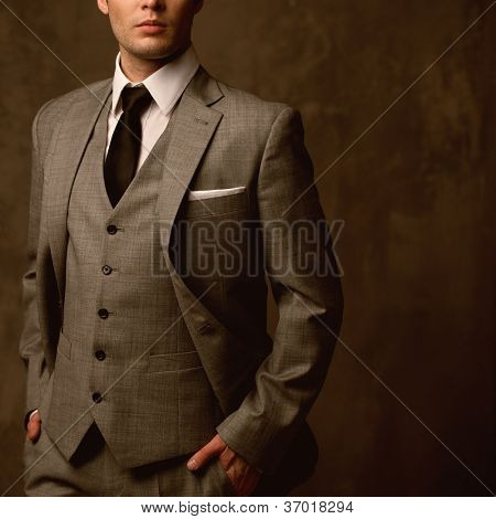 Man in classic suit