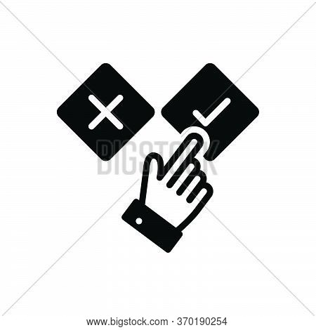 Black Solid Icon For Apt Suitable Appropriate Convenient Handy Applicable