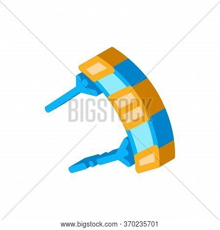 Kind Of Kite Icon Vector. Isometric Kind Of Kite Sign. Color Isolated Symbol Illustration
