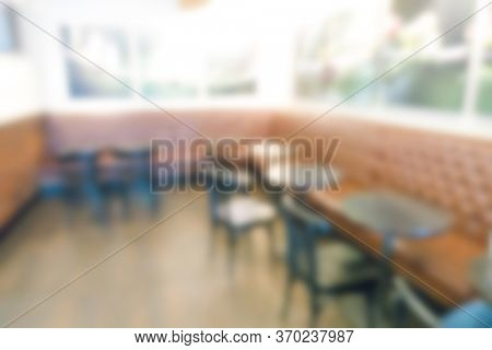 Coffee shop. Abstract blur background.