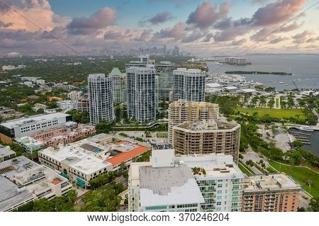 Buildings In Coconut Grove Miami Fl Beautiful Skyscape