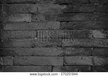 Abstract Dark Brick Wall Texture Background Pattern, Wall Brick