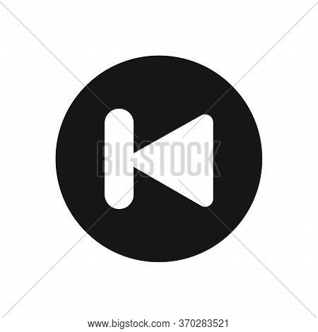 Back Icon Isolated On White Background. Back Icon In Trendy Design Style For Web Site And Mobile App