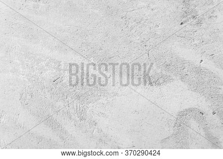 White Concrete Wall For Interior Or Outdoor Exposed Surface Poli